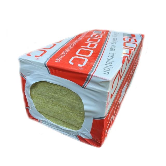 Утеплитель Isoroc Ультралайт 1200*600*50мм, 5.76м2, 0.288м3, (28-38 кг/м3)