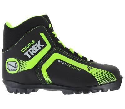 Лыжные ботинки (иск.кожа) TREK Omni1 TR-271 NNN