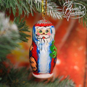 Ёлочная игрушка «Дед мороз»