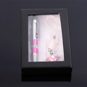 Набор подарочный 2в1 (ручка, брелок-подвеска) микс 427421