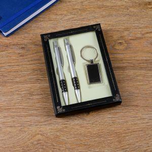 Набор подарочный 3в1 (2 ручки, брелок) 266346