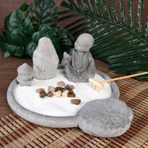 "Сад Дзен ""Маленький будда в саду камней"" 11,5х26х21 см   2319889"