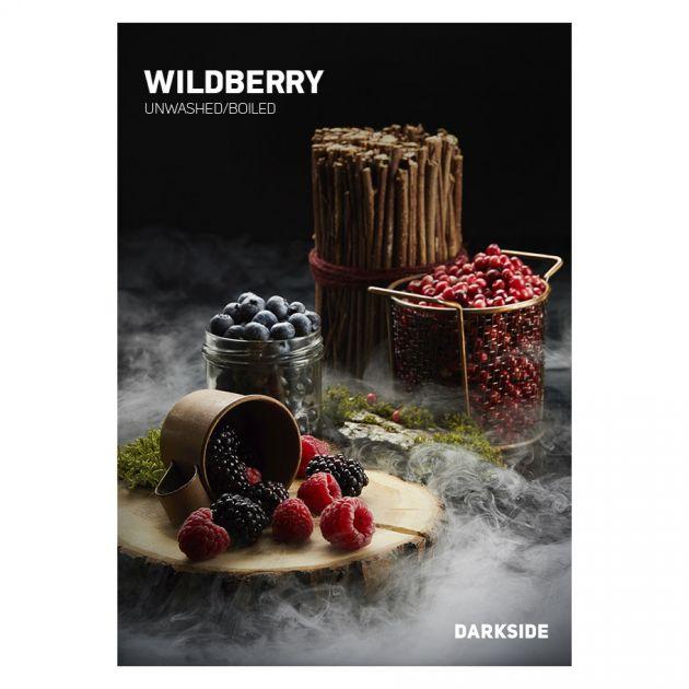 Табак Dark Side Soft - WILDBERRY (Ягодный Микс, 250 грамм)