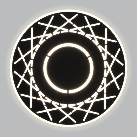 Настенный светодиодный светильник Eurosvet 40148/1 LED черный