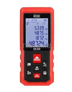 RGK DL50 лазерный дальномер с угломером