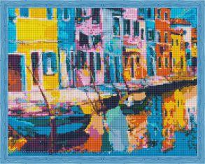 Алмазная мозаика «Радужная Венеция» 40x50 см