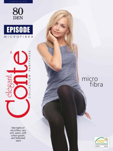 Женские колготки теплые CONTE Episode 80 Den CON203