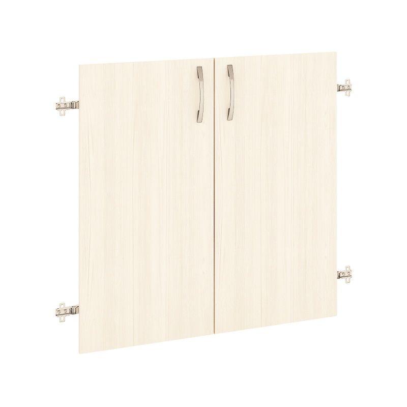 Двери ДСП (на 2 секции) «Рубин»