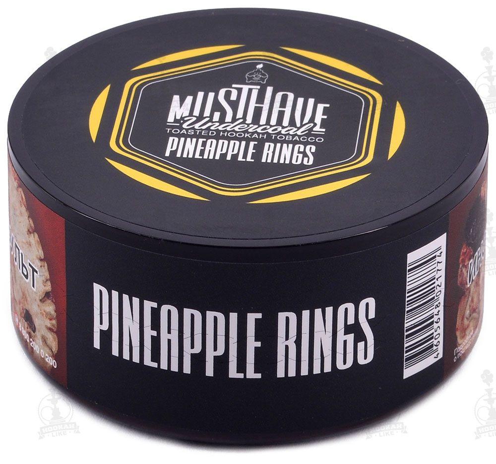 Табак Must Have - Pineapple Rings (Ананасовые кольца, 250 грамм)