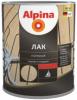 Лак Палубный Alpina 2.5л Алкидно-Уретанновый Шелковисто-Матовый для Внутренних и Наружных Работ / Альпина Палубный