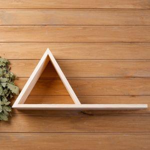 """Полка """"Пирамида"""" из СОСНЫ, 60х14х28 см   4472500"""