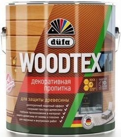 Пропитка Dufa Woodtex 10л Белый для Дерева Алкидная с Твердым Воском в Составе / Дюфа Вудтекс