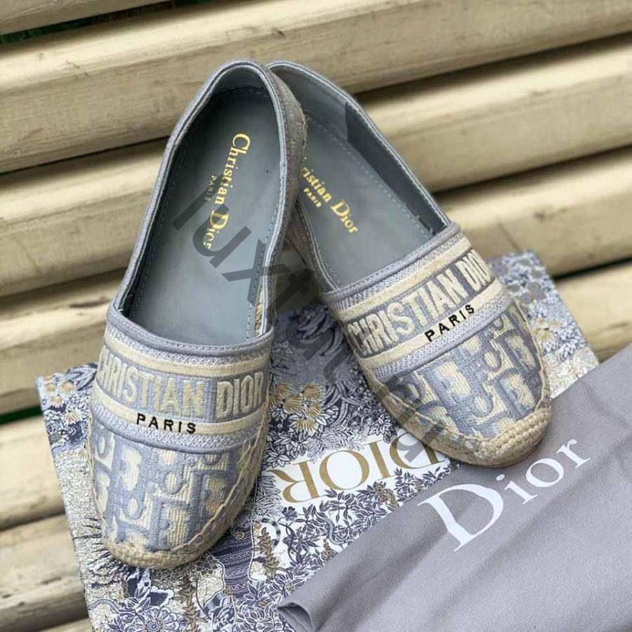 Эспадрильи Dior