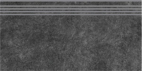 SG615000R/GR   Ступень Королевская дорога черный обрезной