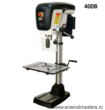 Настольный сверлильный станок профессиональный 0,55 кВт 400В (дерево/металл) JET JDP-15B 716200T