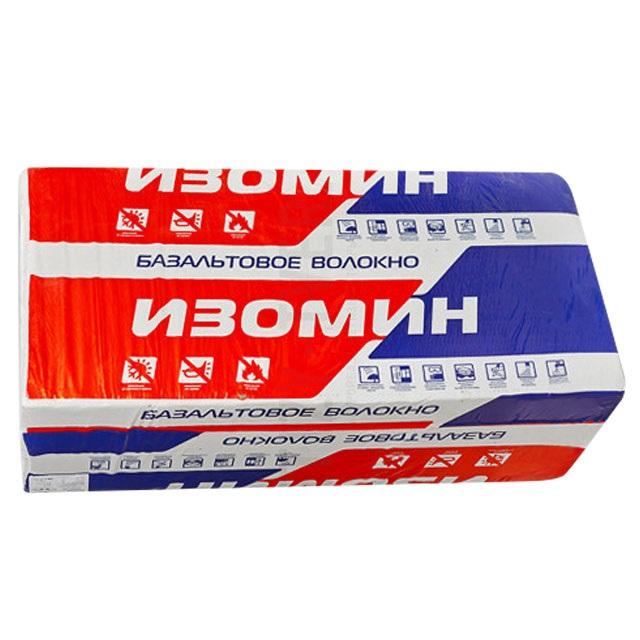 Утеплитель Изомин Руф-В 1000*500*50мм, 2.50м2, 0.125м3 (180 кг/м3)