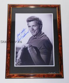 Автограф: Клинт Иствуд