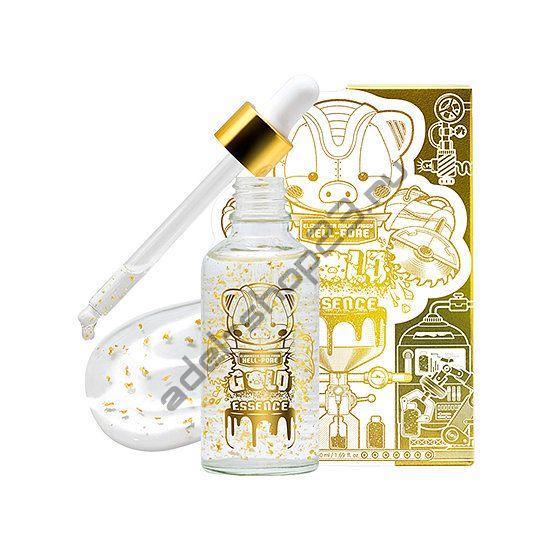 Elizavecca - Сыворотка антивозрастная с частичками золота Milky Piggy Hell-Pore Gold Essence