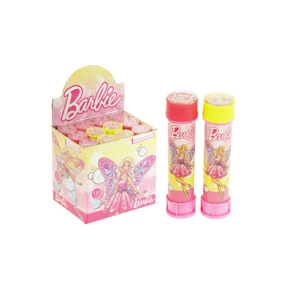 1toy Barbie, мыльные пузыри, бут. 110 мл