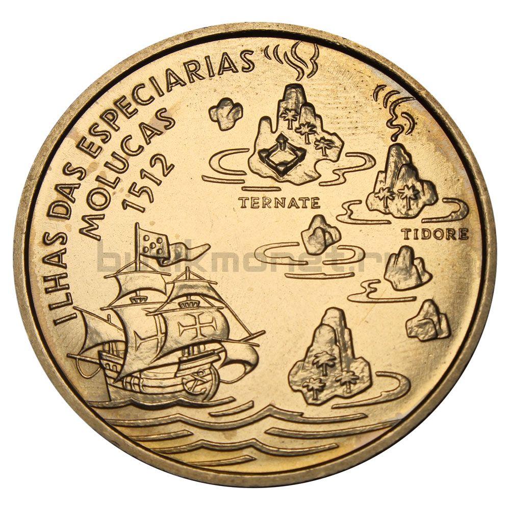 200 эскудо 1995 Португалия Путешествие на Молуккские острова в 1512 году