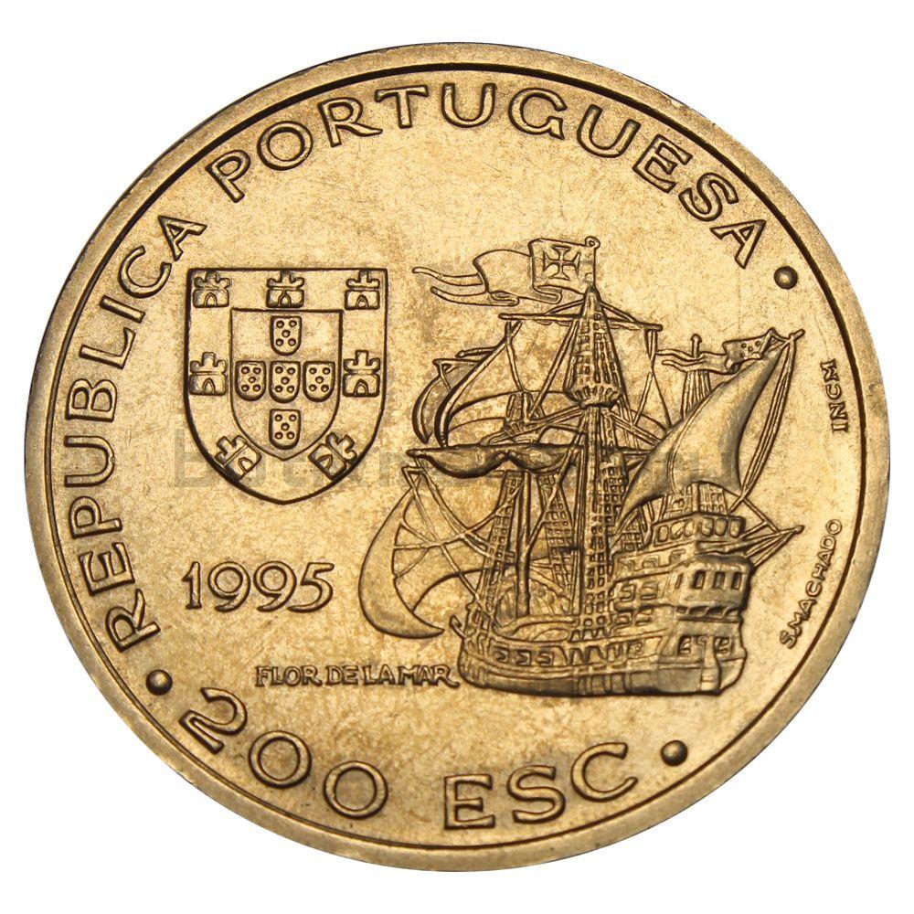 200 эскудо 1995 Португалия 480 лет со дня смерти Афонсу де Албукерки