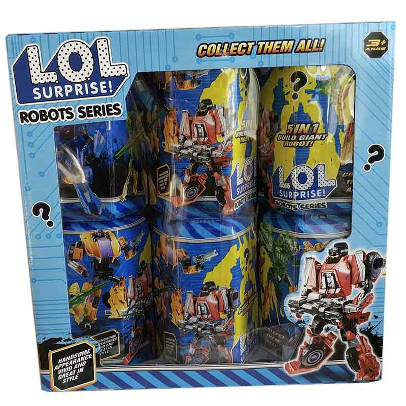 Купить Комплект из шести сюрпризов LOL в капсуле  недорого и с доставкой