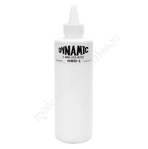 Dynamic Colors «Heavy White — Насыщенный Белый» — 240мл (8 OZ) / краска для татуировки (США)
