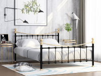 Кровать металлическая с ортопедическим основанием Эльда Лофт