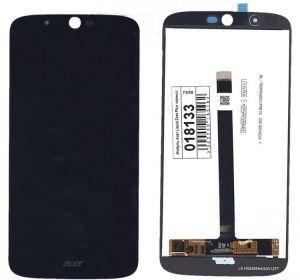 LCD (Дисплей) Acer Z628 Liquid Zest Plus (в сборе с тачскрином) (black) Оригинал