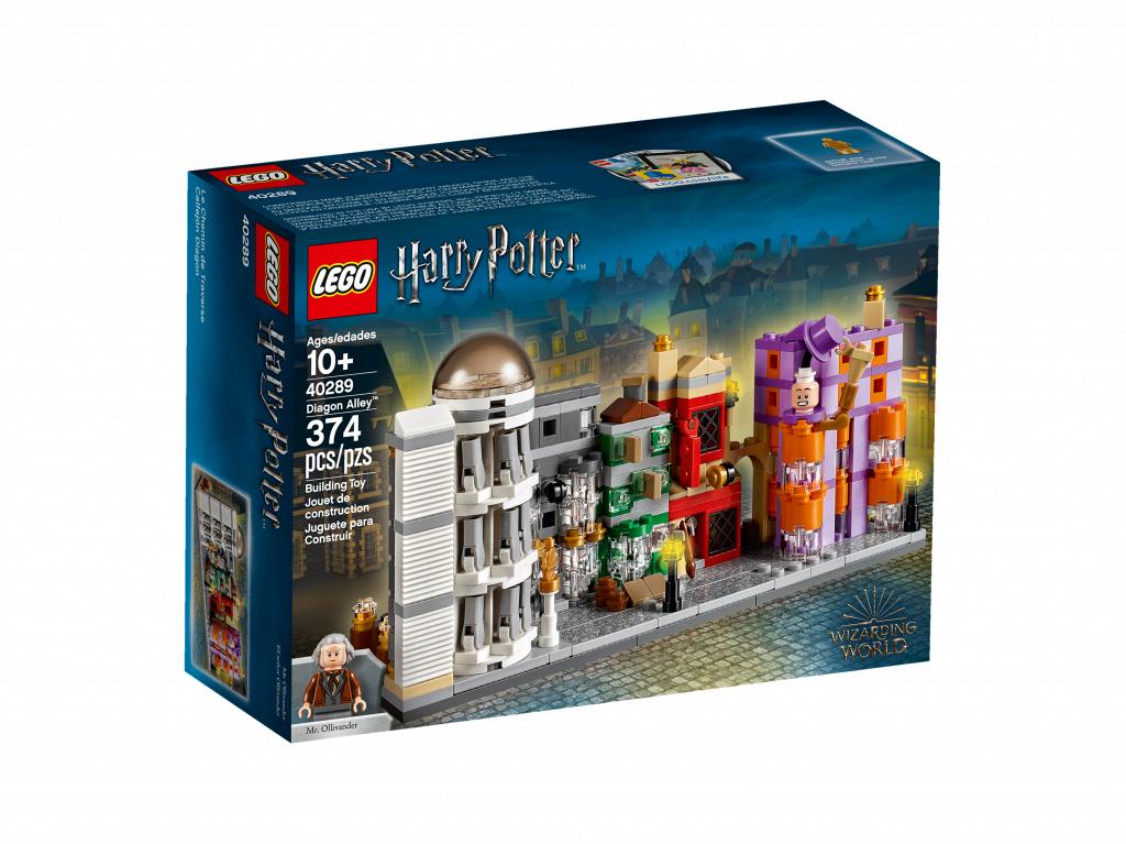 Косой Переулок. LEGO Гарри Поттер 40289