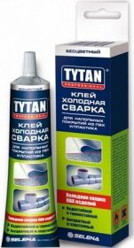 Клей Холодная Сварка Tytan 100мл Бесцветный для Всех Типов ПВХ