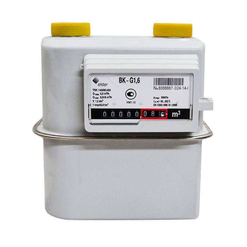 Газовый счетчик ВК G1,6