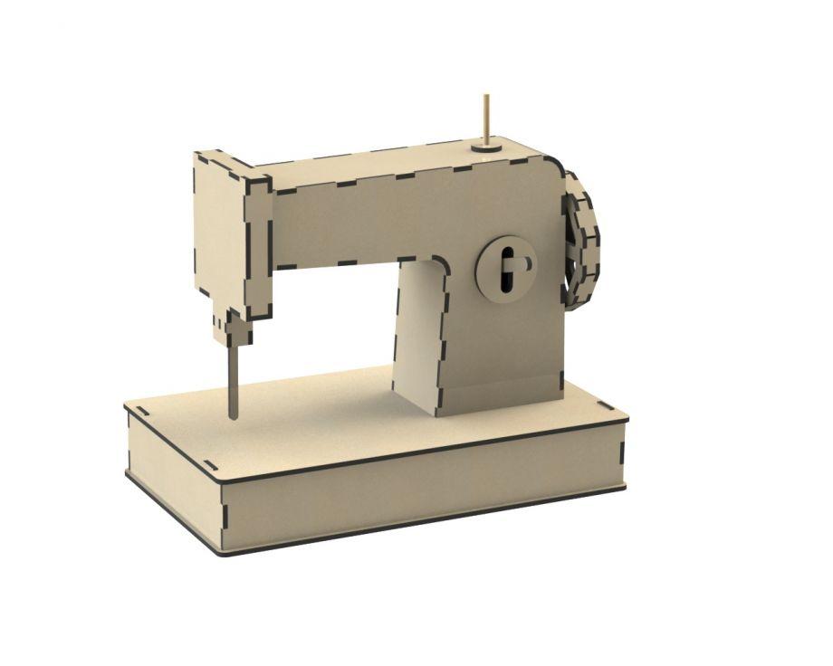 Швейная машинка из дерева