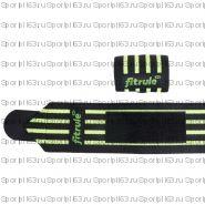 Бинты кистевые FitRule черно-зеленые HARD (пара), 50см черно-зеленые