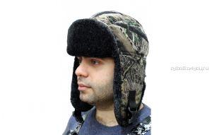 Шапка Novatex-ушанка УМКА (Темный лес)