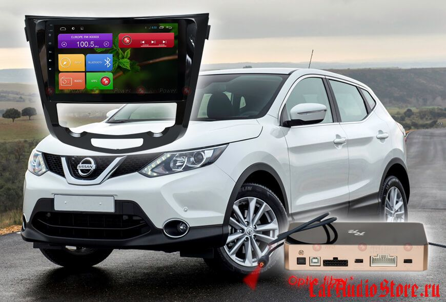 Nissan (X-Trail, Qashqai) с климат-контролем Redpower 31301 R IPS DSP ANDROID 7