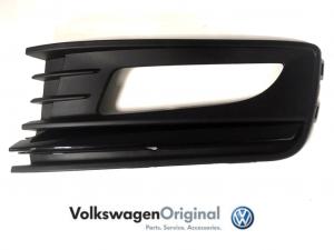 Облицовка ПТФ VAG левая Черная Volkswagen Polo Sedan