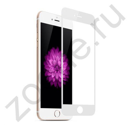 Защитное стекло для iPhone 6/6s 3D Tempered Glass White