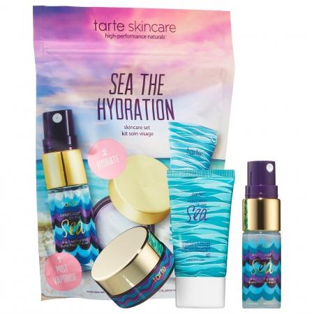 Набор для глубокого увлажнения кожи Sea The Hydration Skincare Set TARTE
