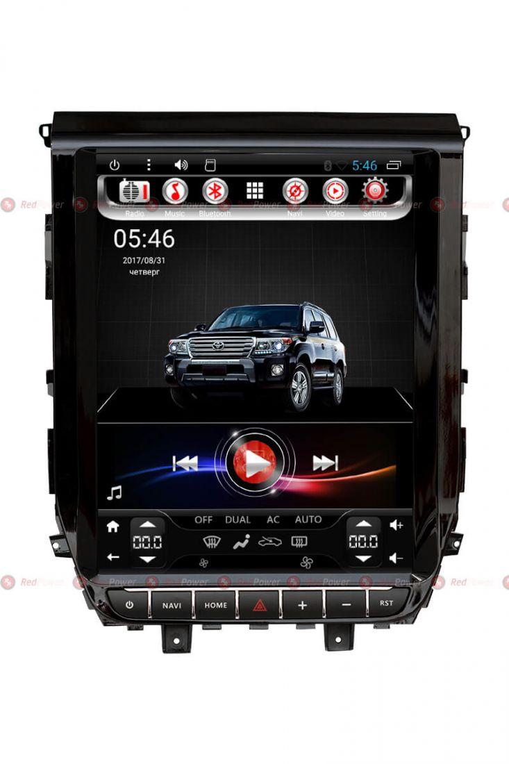 "Redpower 31201 TESLA автомагнитола 12""для Toyota LC200 2014+"