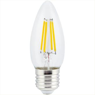 Ecola candle LED 5,0W 220V E27 4000K