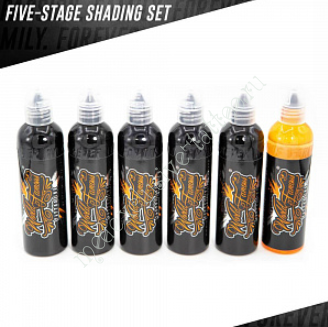 WORLD FAMOUS 5 STAGE SHADING SET 1oz