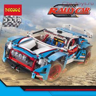 Конструктор Decool Technic Гоночный автомобиль 3377 (Аналог LEGO Technic 42077) 1050 дет