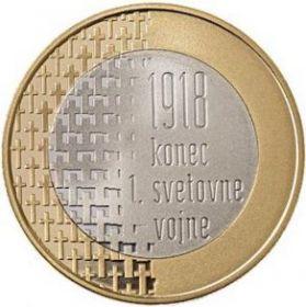 100 лет окончания Первой мировой войны  3 евро Словения 2018 на заказ