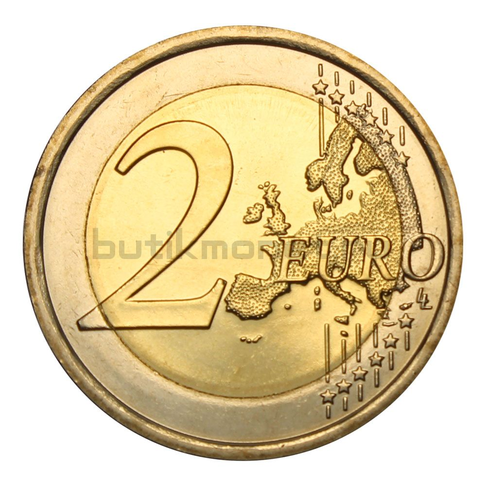 2 евро 2018 Италия 70 лет Конституции Итальянской республики