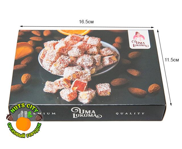 "Лукум ""Традиция"" с ароматом апельсина и миндалем 180гр"
