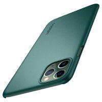 Купить чехол Spigen Thin Fit для iPhone 7 Pro зеленый тонкий чехол для Айфон 11 Про в Москве в интернет магазине аксессуаров для смартфонов elite-case.ru