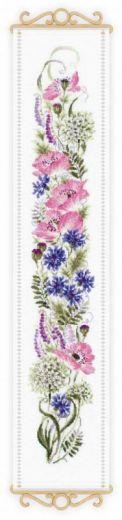 Набор для вышивания крестом Цветочное ассорти №1866 фирма Риолис
