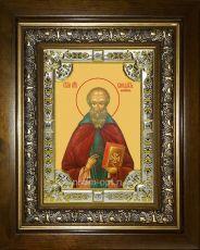 Икона Венедикт Нурсийский преподобный (18х24)
