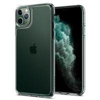 Чехол Spigen Quartz Hybrid для iPhone 11 Pro Max кристально-прозрачный